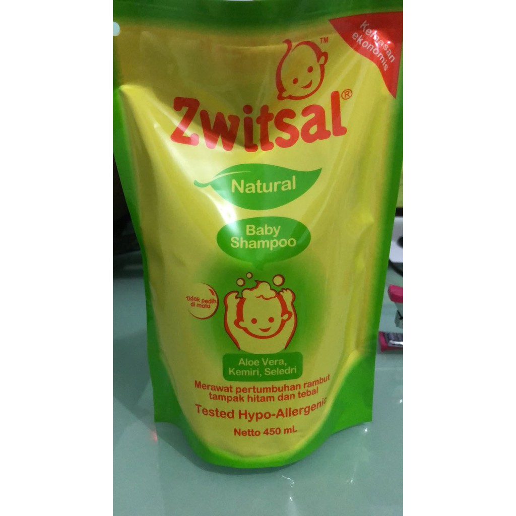 Zwitsal Natural Baby Shampoo Aloe Vera Kemiri Seledri 450 Ml Pump 300 450ml Shopee Indonesia