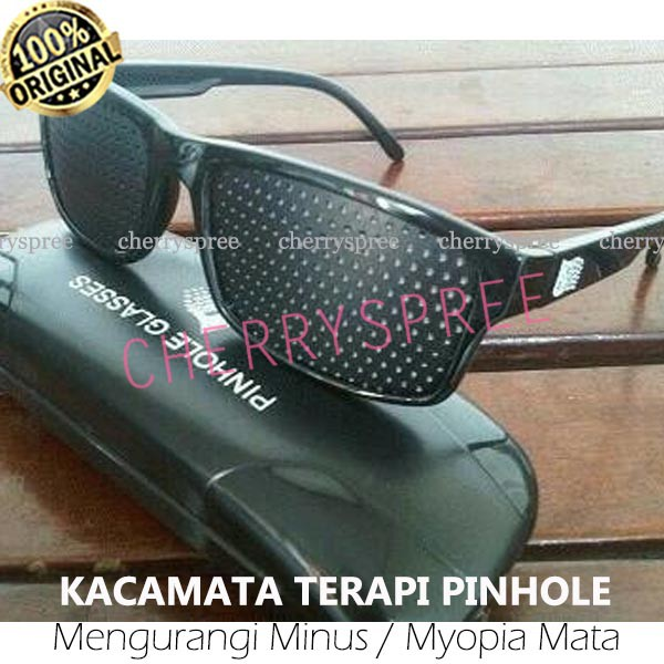 Kacamata terapi pinhole TP 01 mata minus silinder plus  e7bfa36bfe