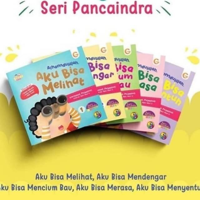 Seri Panca Indra Buku Cerita Anak Buku Aktivitas Anak Paud Tk Sd Belajar Sambil Bermain Shopee Indonesia