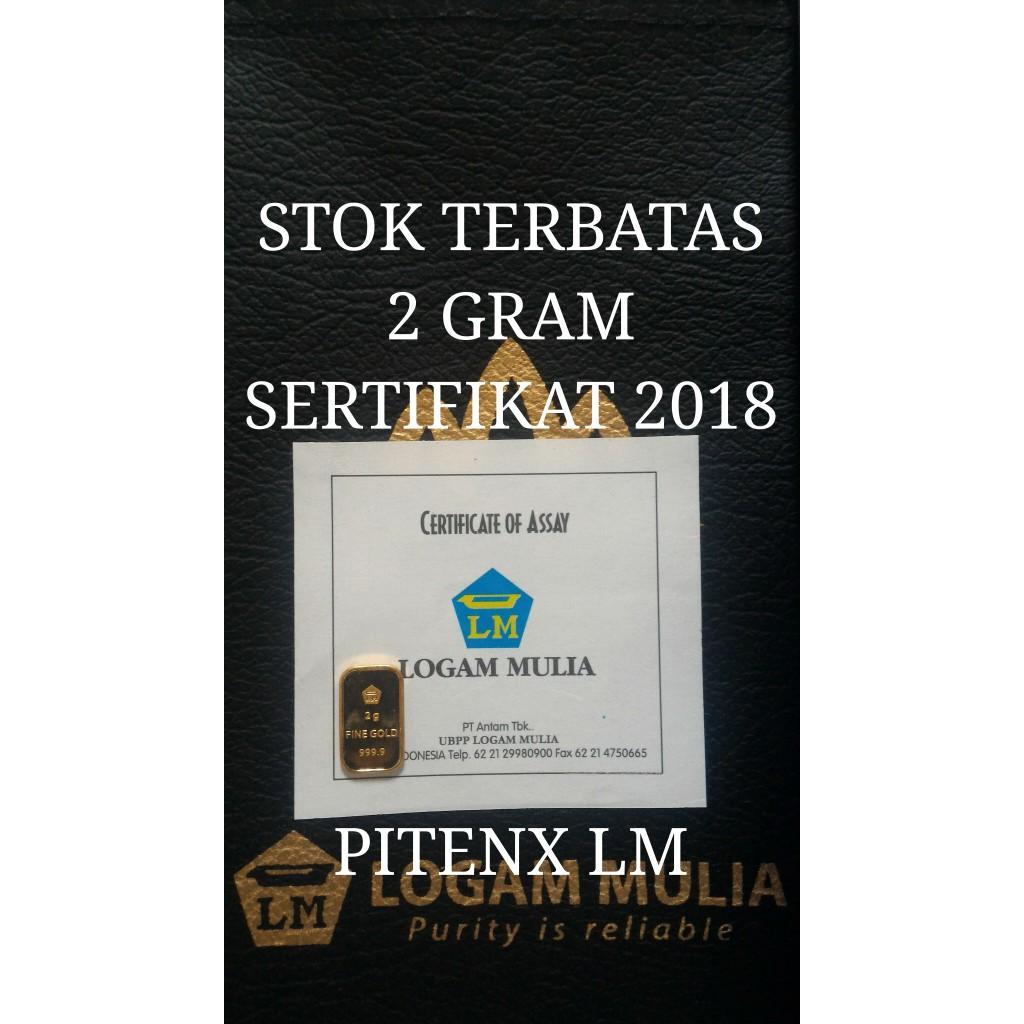 Gold Logam Mulia Emas Antam 05 Gram Fine 9999 Sertifikat Lbma Shopee Indonesia Source