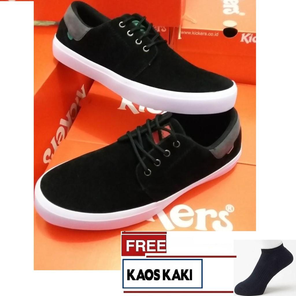 Sneakers Kasual Casual kickers snike coklat muda detail pict sol gum Sepatu  Kerja Cowok murah brown  2401c03d10