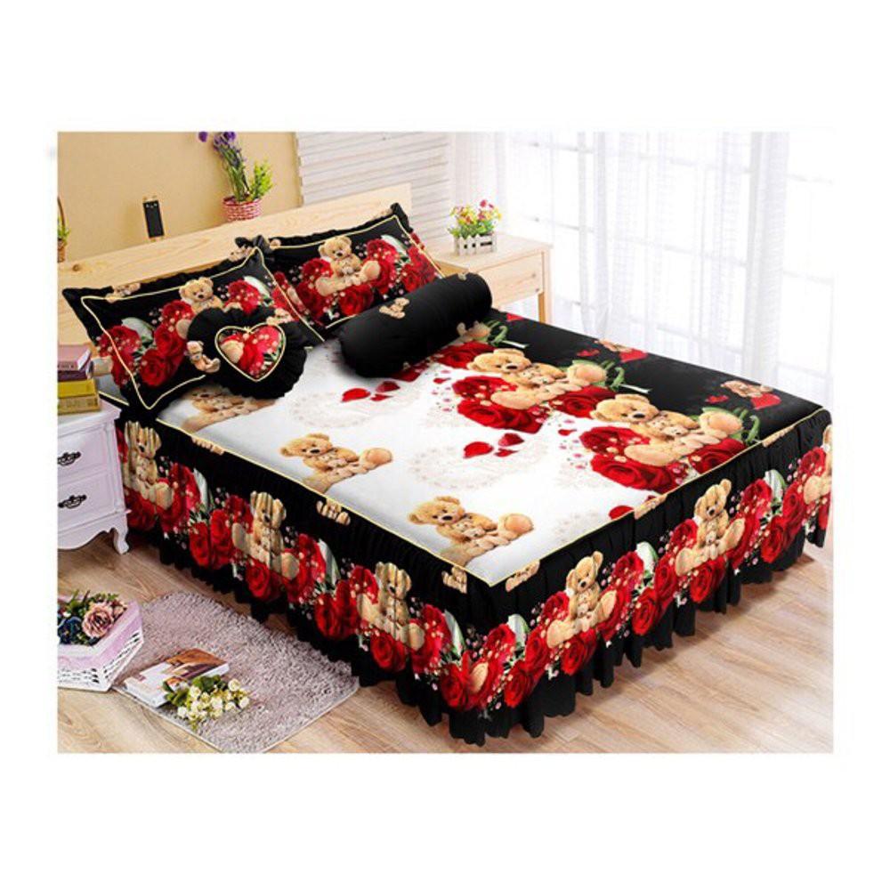 Jual Chelsea Rosewell Bed Cover Dan Sprei 180x200cm Bunga Abstrak Microtex Set Temukan Harga Penawaran Kamar Tidur Online Terbaik