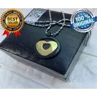 [MCI] Kalung Aura Heart Black Gold