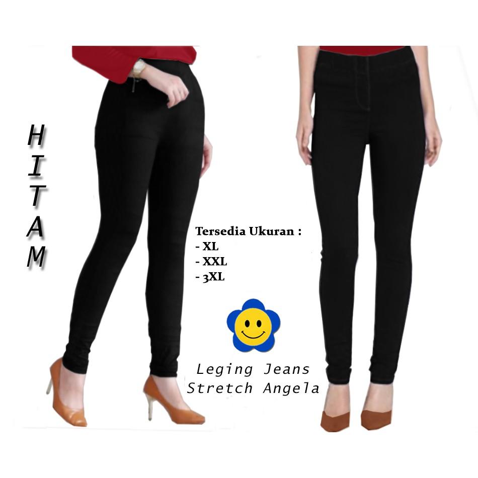 Mm 54749 Legging Angela Celana Panjang Wanita Celana Legging Wanita Model Terbaru Terlaris Termurah Shopee Indonesia