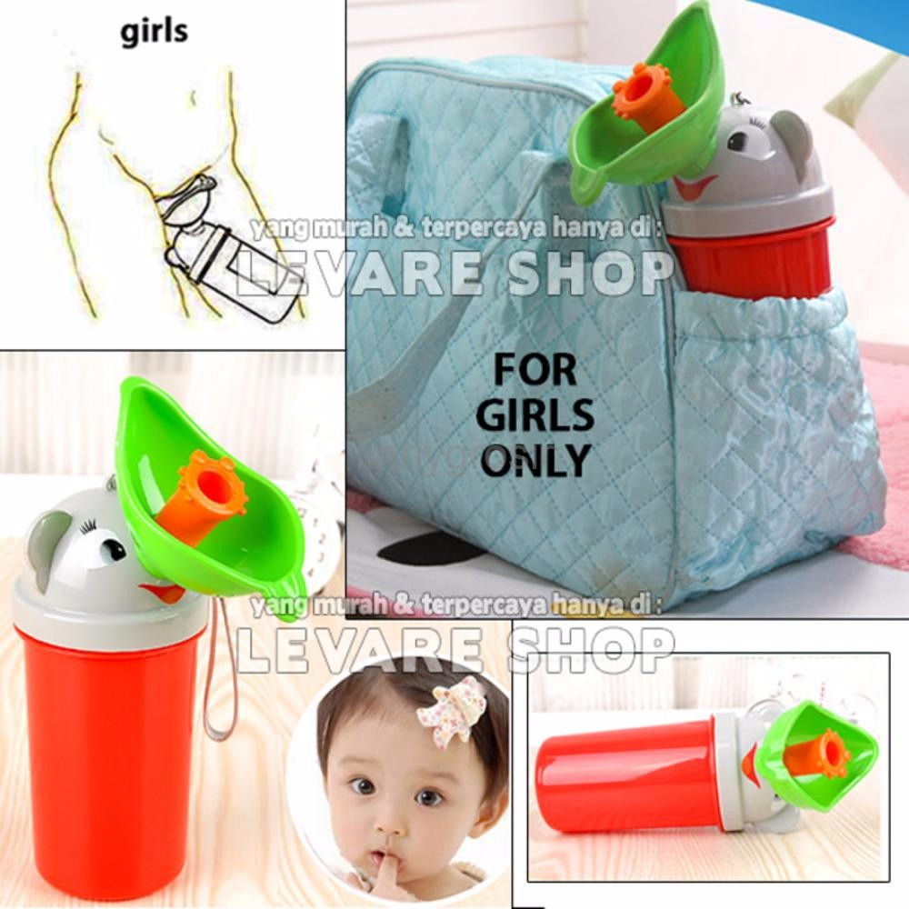 Terbaru Travel Toilet Bottle Botol Pispot Portable Tempat Pipis Anak N Trainer For Kids Shopee Indonesia