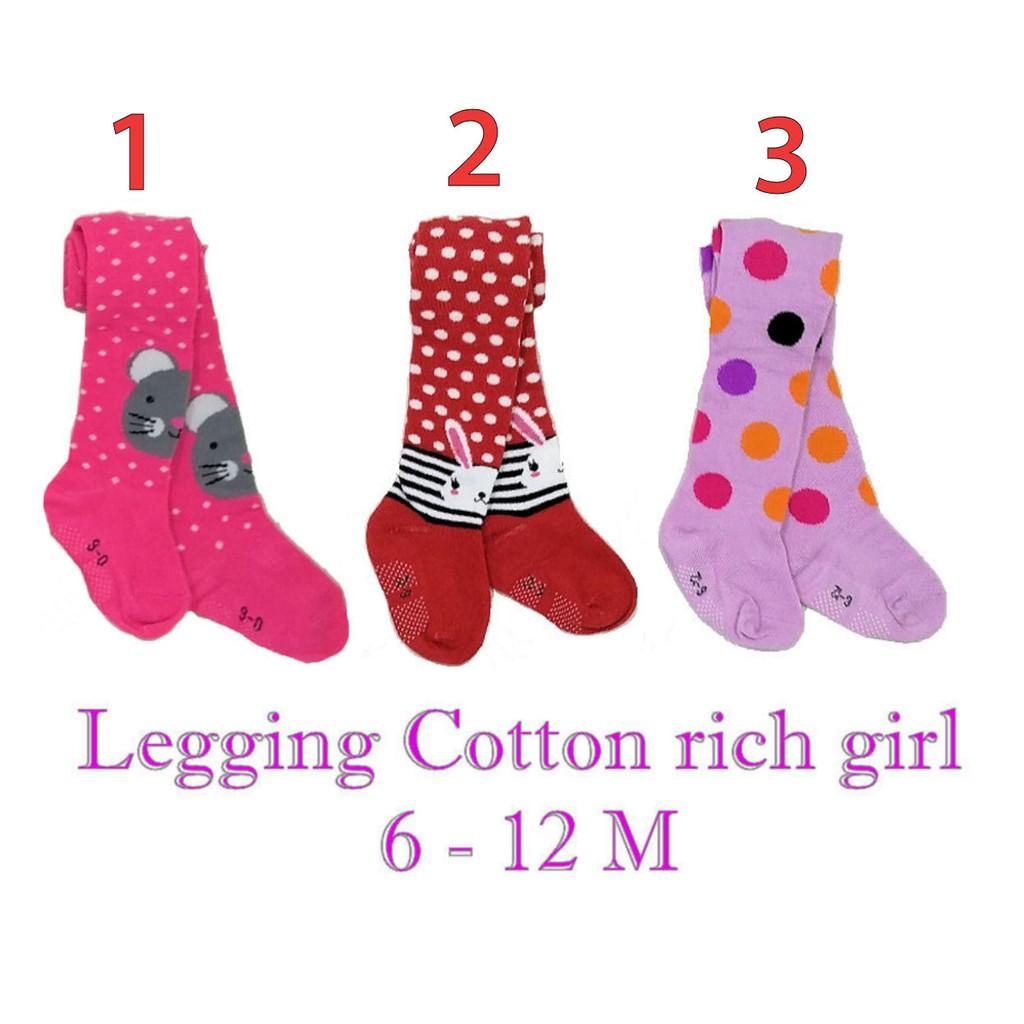 Legging Bayi Motif Girl Grosir 4pcs | Cotton Rich Tights - 022.3676 | Shopee Indonesia