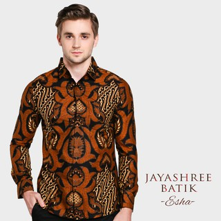 Jayashree Batik Slimfit Esha Long Sleeve Pria