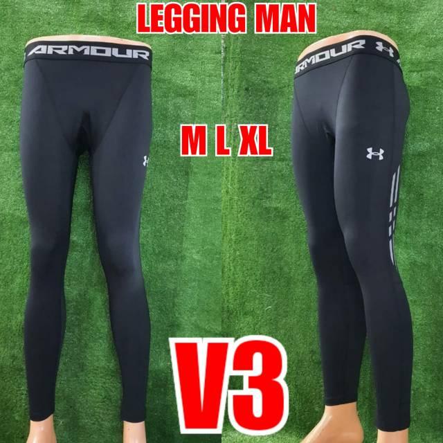 Celana Legging Lari Panjang Impor Pria V3 Shopee Indonesia