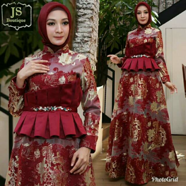 Gamis Js Collection Shopee Indonesia