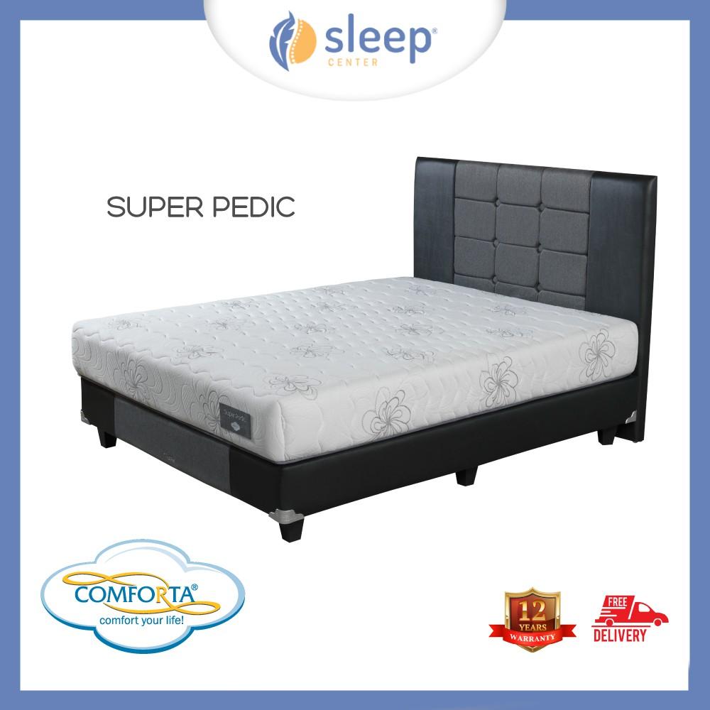 Sleep Center Comforta Bed Set Perfect Dream Shopee Indonesia Kasur Super Pedic 90x200tanpa Divan Sandaran Jadebotabek Only