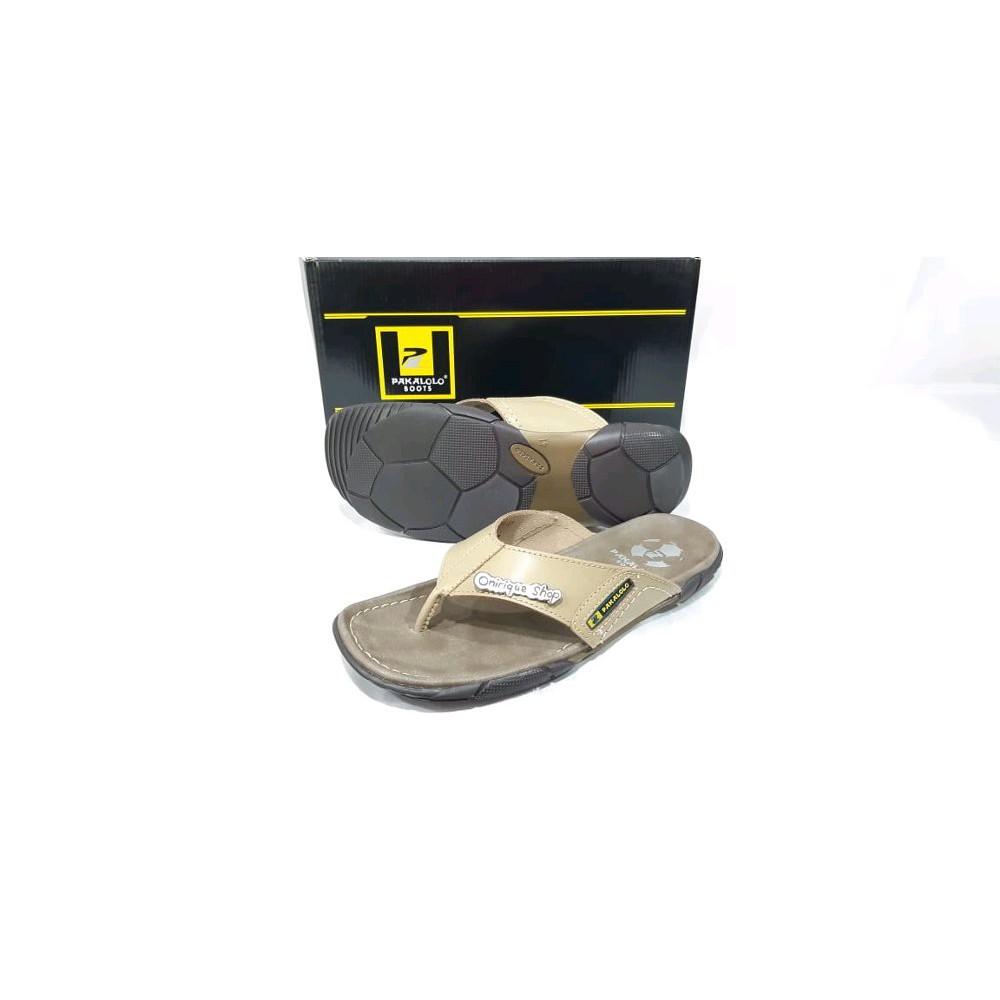 Sandal kulit pria Pakalolo 2329