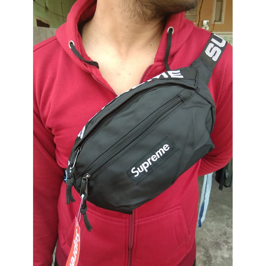 Body Bag Supreme Pria Waistbag Bodybag Import Tas Waist Premium Img3135 Best Quality Shopee Indonesia