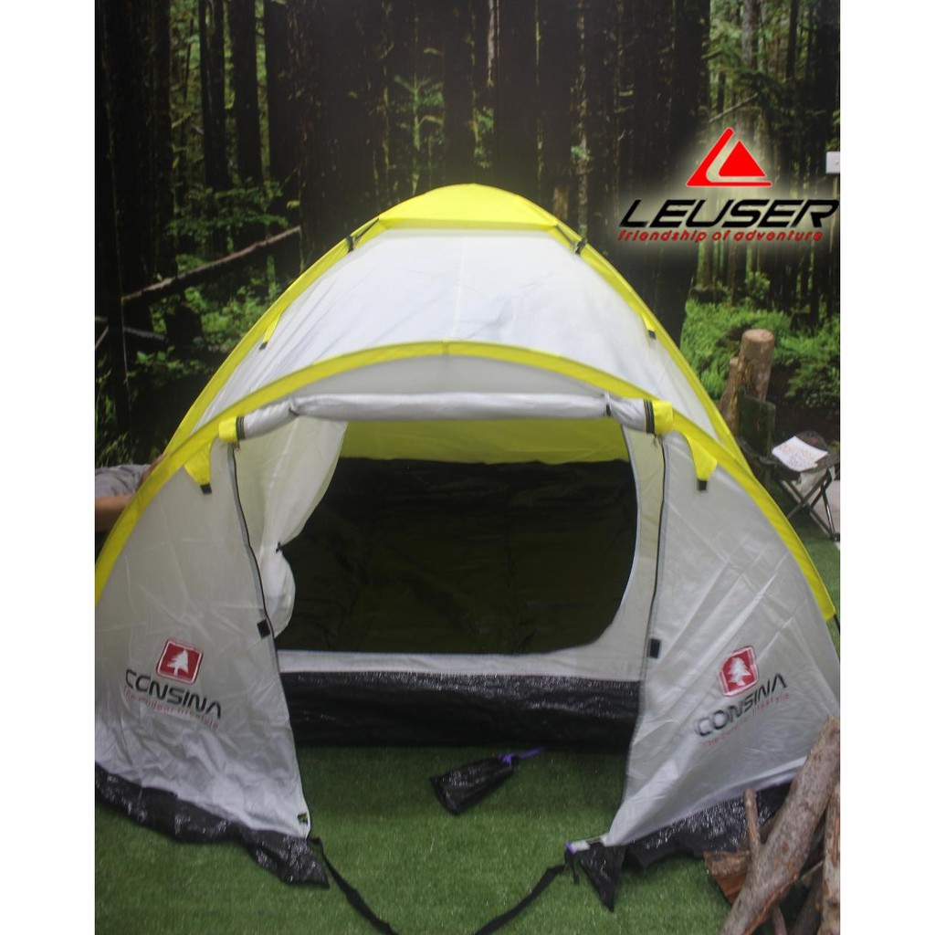 harga terkeren harganya Dome Tent / Tenda Consina Magnum 4  ssip R89 Shopee.co.id