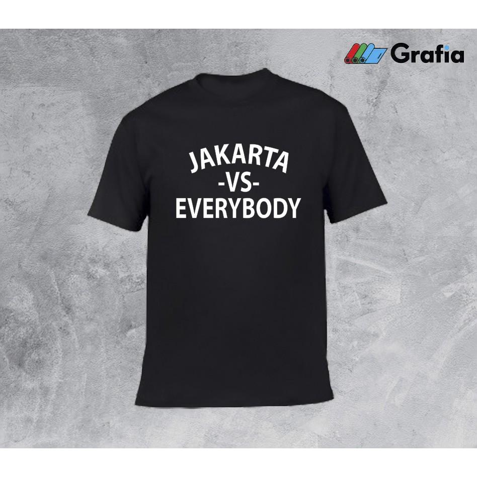Kaos Jakarta Vs Everybody Shopee Indonesia