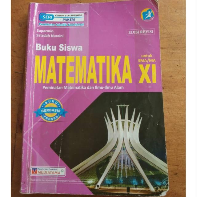 Buku Paket Matematika Peminatan Kelas 11 Sma Kurikulum 2013 Edisi Revisi Penerbit Mediatama Shopee Indonesia