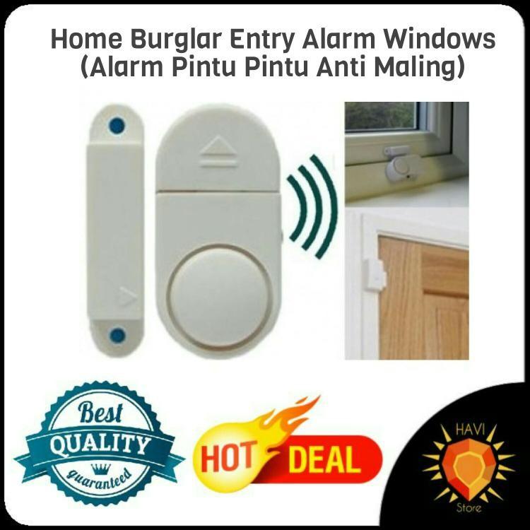 ALARM PINTU ANTI MALING | Shopee Indonesia -. Source · lanjar jaya Alarm Pintu Jendela Rumah Anti Maling - Door Window Entry ...