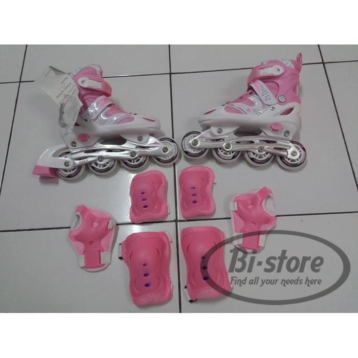 Promo Unik Sepatu Roda Inline Power Skate SUPERB Size S M L harga Grosir  Mantap Murah Berkualitas  a4b22b6980
