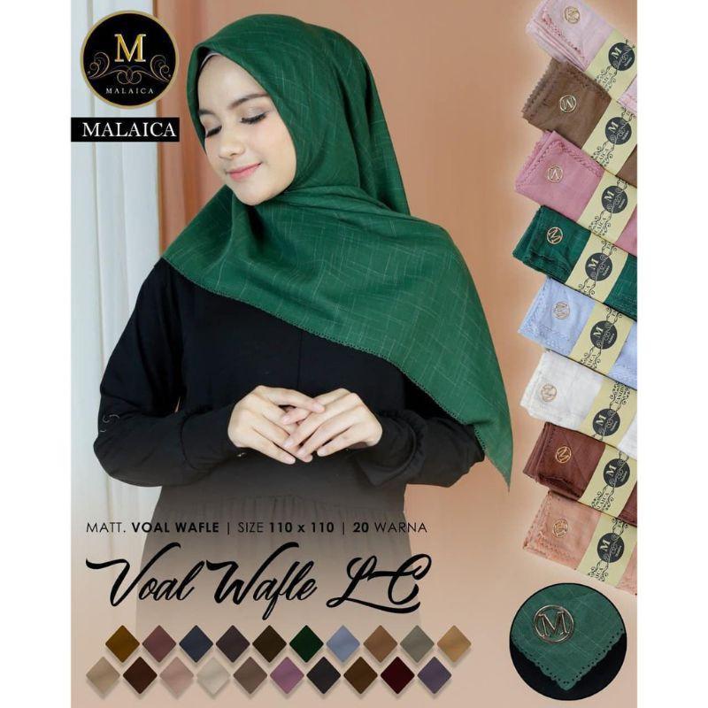 hijab segiempat / jilbab malaica /hijab malaica