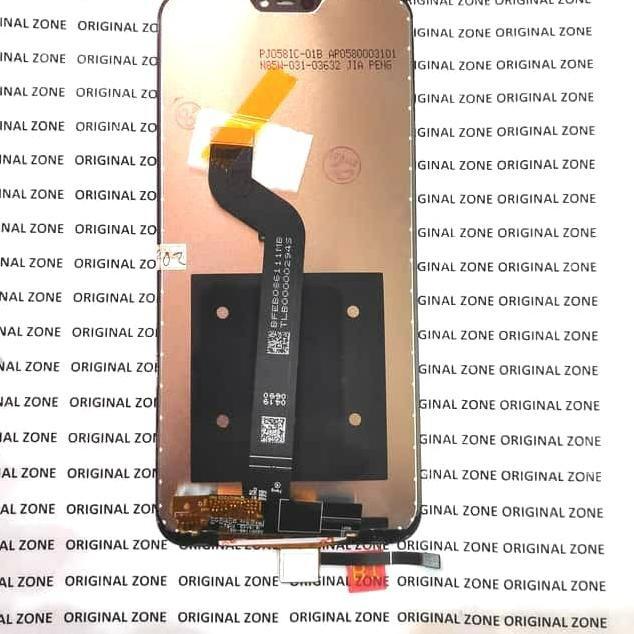 Super Promo995LU  Lcd xiaomi Mi A2 lite ORIGINAL lcd xiaomi MiA2 lite full touchscreen - Hitam