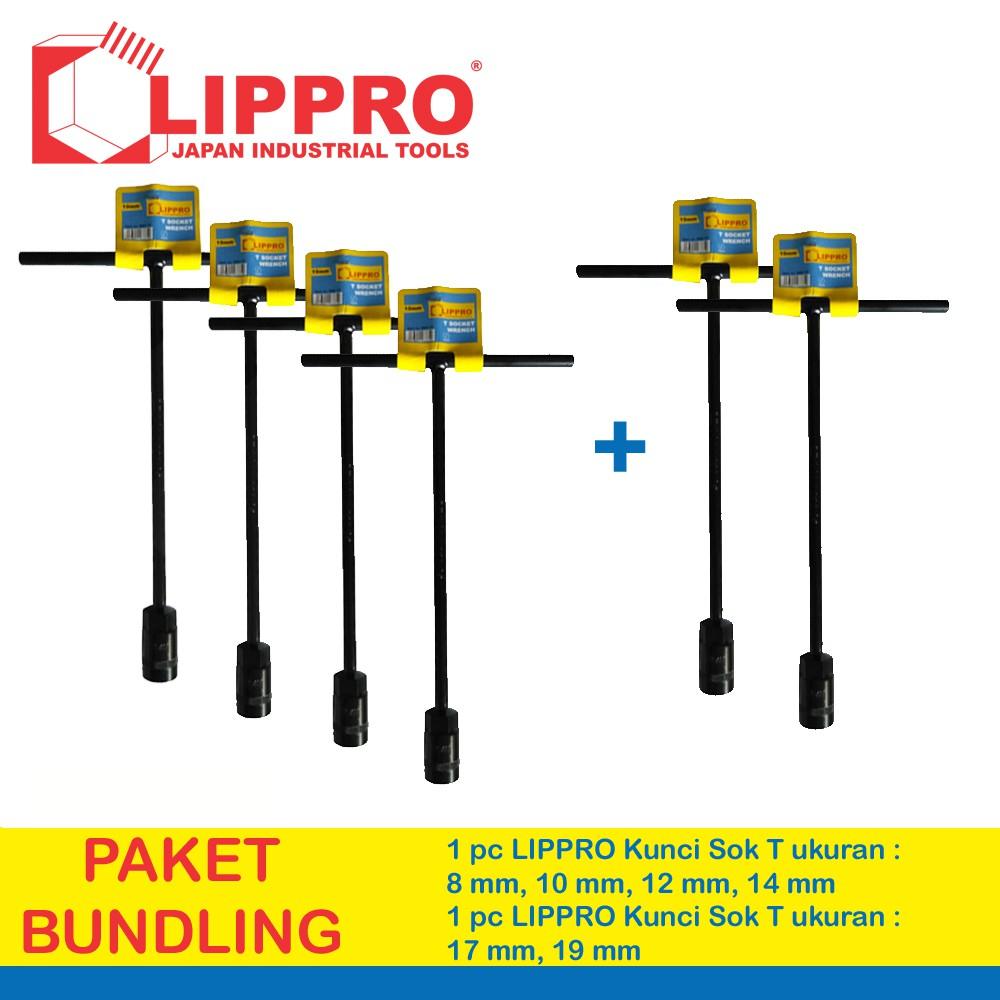[Bundling] Lippro Kunci Sok T Set 5 Pcs 8 - 10 - 12 - 14 - 17 Mm | Shopee Indonesia