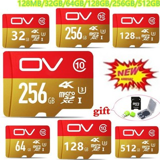 Kartu SD 512GB Micro SD Class 10 SDXC SDHC UHS-1 TF Mini SD