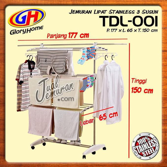 JBS Tali Jemuran 5 meter Serbaguna Baju Handuk Hanger GantunganBaju Multi Colour Cukuran. Source · jemuran lipat - Temukan Harga dan Penawaran Tempat ...
