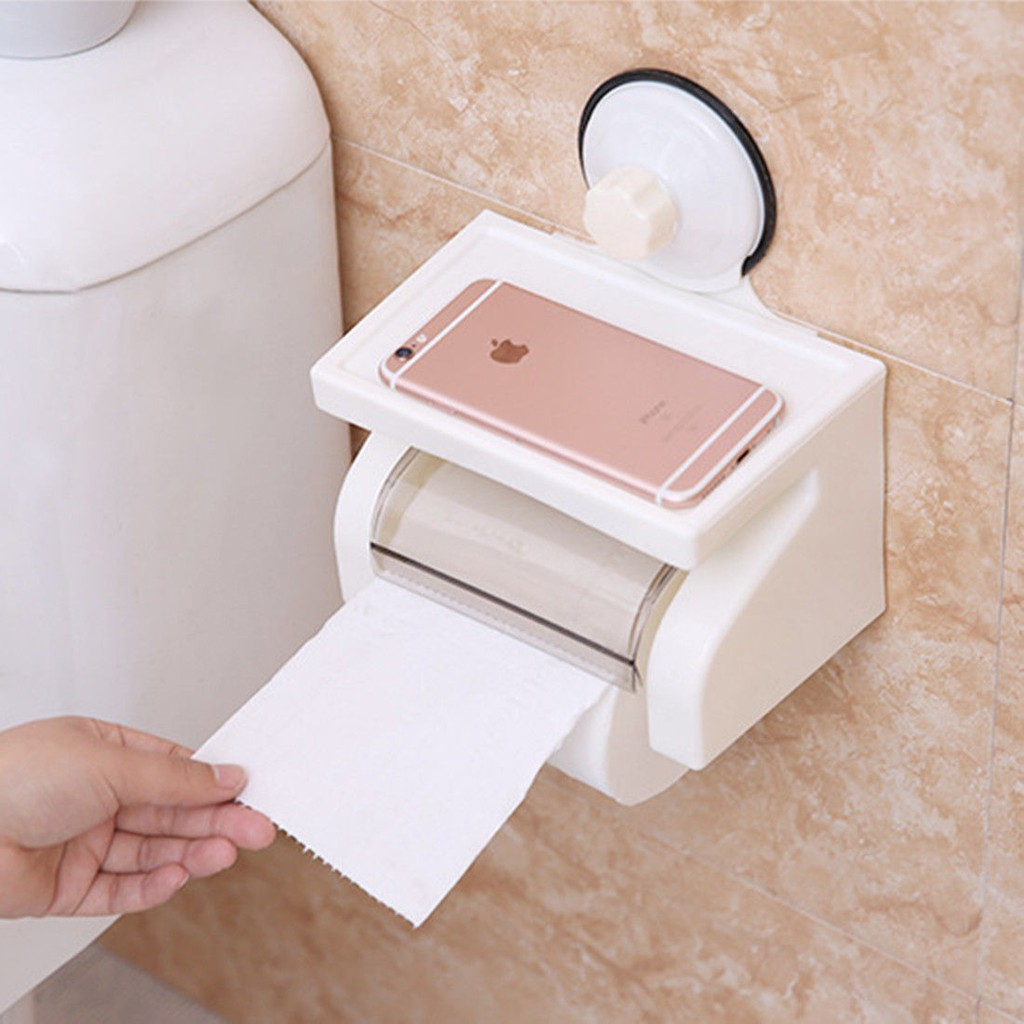 Holder Tissue Toilet Bahan Stainless Steel Anti Air fhio | Shopee Indonesia