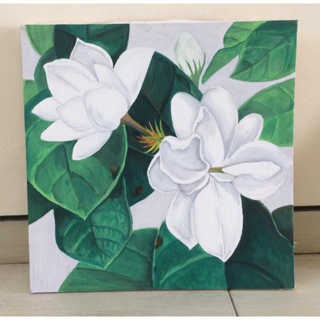 Lukisan Bunga Melati Shopee Indonesia