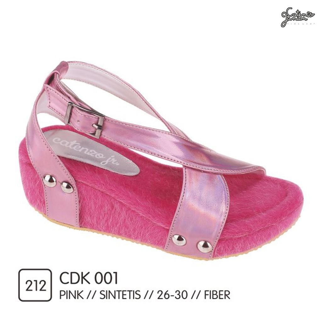 Catenzo Junior CDK 001 wedges casual anak perempuan CJR  5c4076e47f