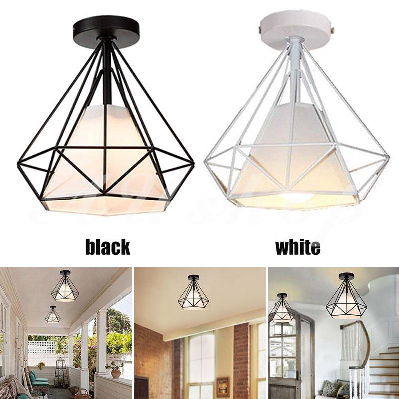 Aushoponline Fashion Recessed Ceiling Lights E27 Hanging Lamp Romantic Parlor Scandinavian Shopee Indonesia