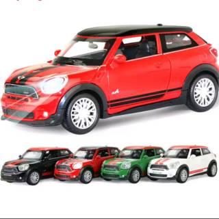 BMW Mini Cooper >> 1 32 Mobil Baja Diecast Dengan Suara Bmw Mini Cooper S