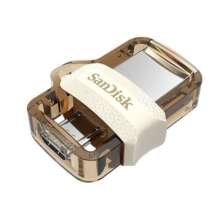 Sandisk Ultra Dual Drive M3.0 White Flashdisk Otg 32Gb Up To 150Mbps