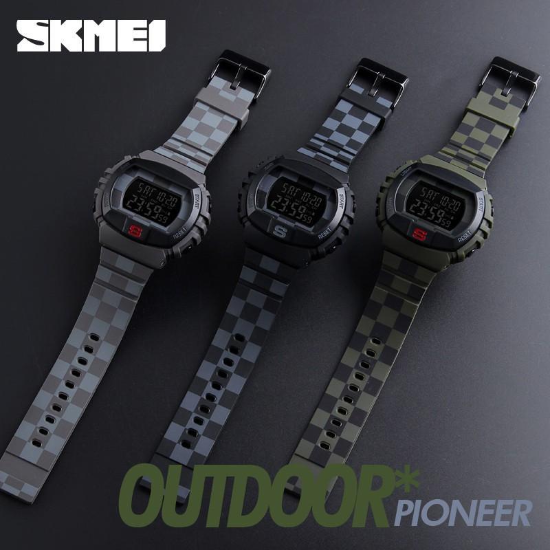 【Skmei Offical Store】SKMEI 1068 Jam Tangan Sport Multifungsi untuk Pria | Shopee Indonesia