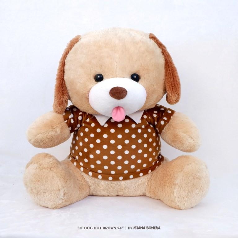 Istana Boneka - Bear Ivonne Pink with Syal  2a78bc9475