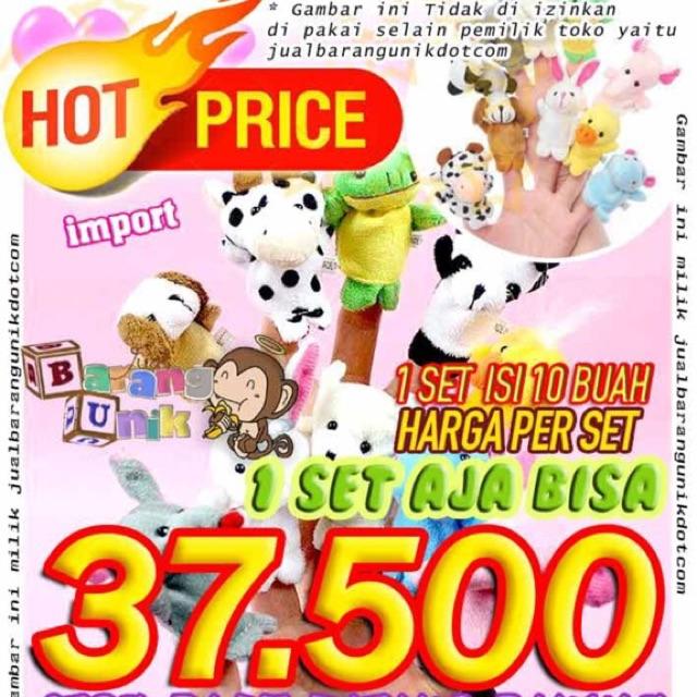 Boneka Jari Tangan Binatang (10pcs)  b9570eedd0