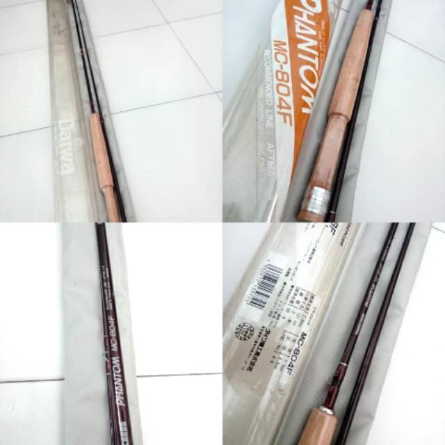 Joran daiwa phantom mc 804f made in taiwan