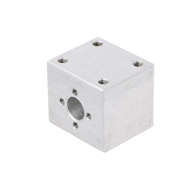 Aluminium Trapezoidal Nut Block Bracket for T8 8mm Lead Screw Rod CNC 3D Printer