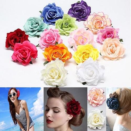 Jepit Rambut Bunga Aneka Warna untuk Pesta/Pernikahan ...