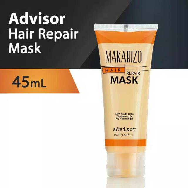 Makarizo Hair Repair Mask 45ml Masker Rambut Makarizo Tube 45ml Shopee Indonesia