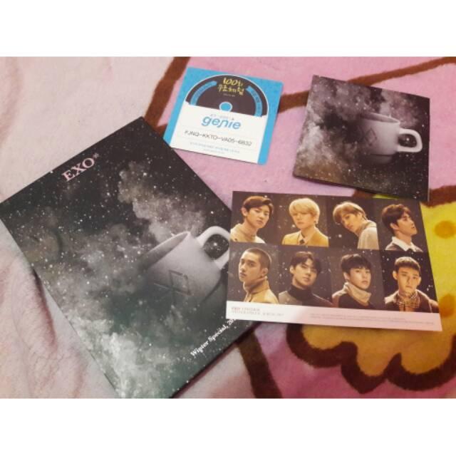 24 EXO 2017 Winter Special Album Universe Xiumin Type-B Photo Card K-POP