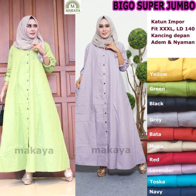 Baju Muslim Modern Big Size Baju Muslim