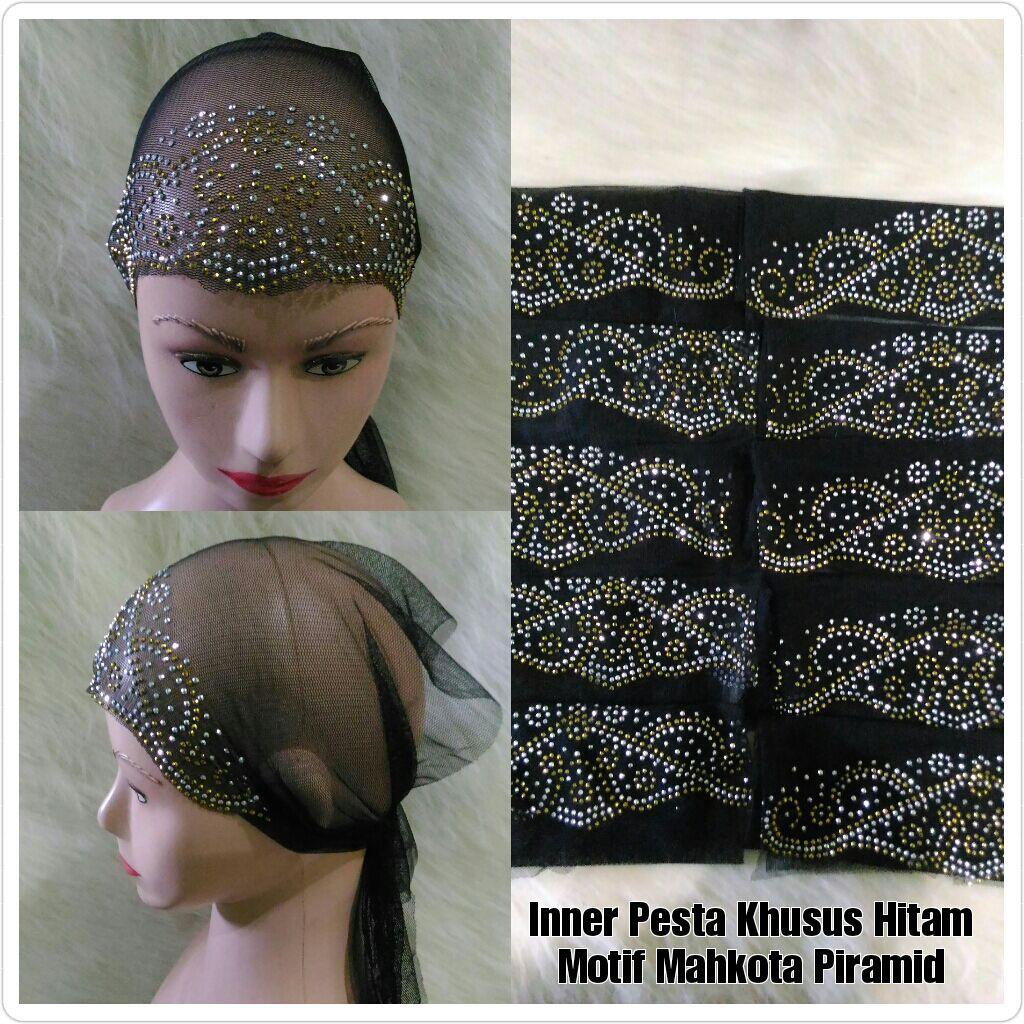 Ecer Bandana Rajut Dua Warna Kerut Hitam Putih Baca Catatan Dan Inner Tile Diamond Pesta Rp15000 Deskripsi Shopee Indonesia