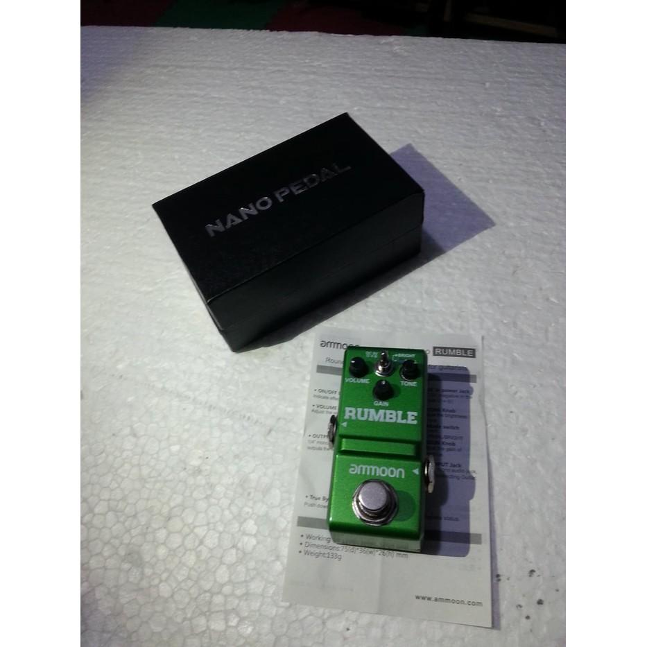 Super Promo! Ammoon Nano Looper Pedal Micro Usb Efek Gitar Loop Station  Stompbox .....  1762dd5eca