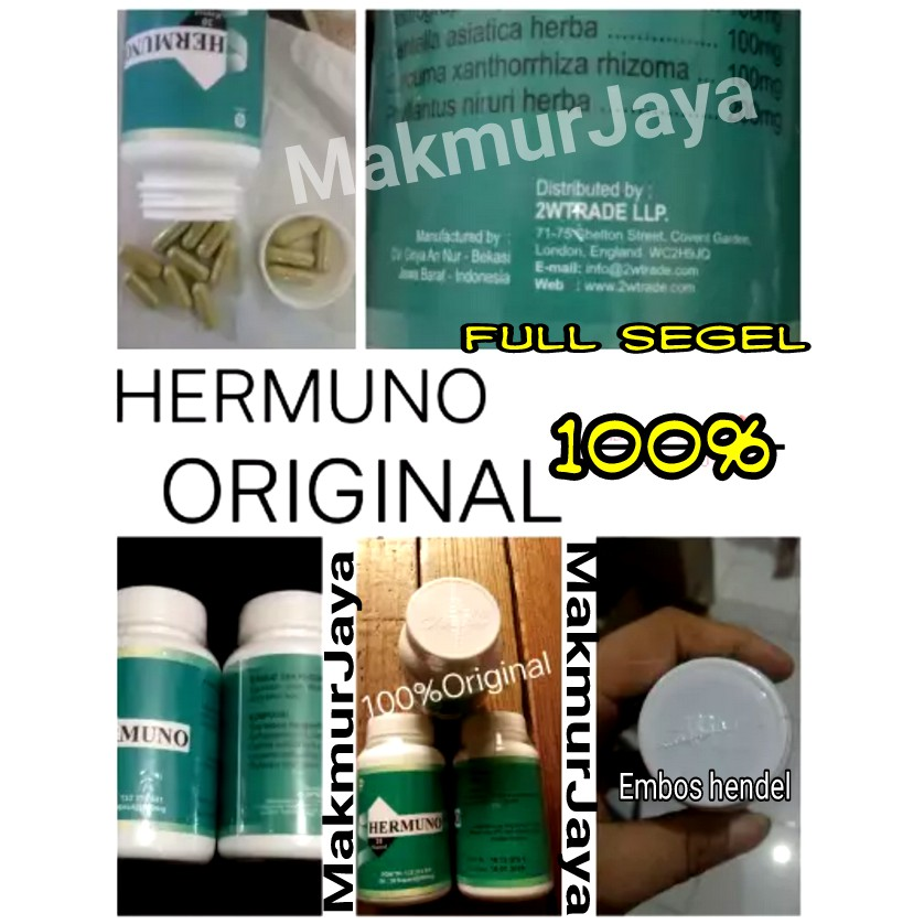 STOCK TERAKHIR HERMUNO - OBAT HERBAL ANTI PARASIT - DI JAMIN ORIGINAL OBAT HERBAL | Shopee