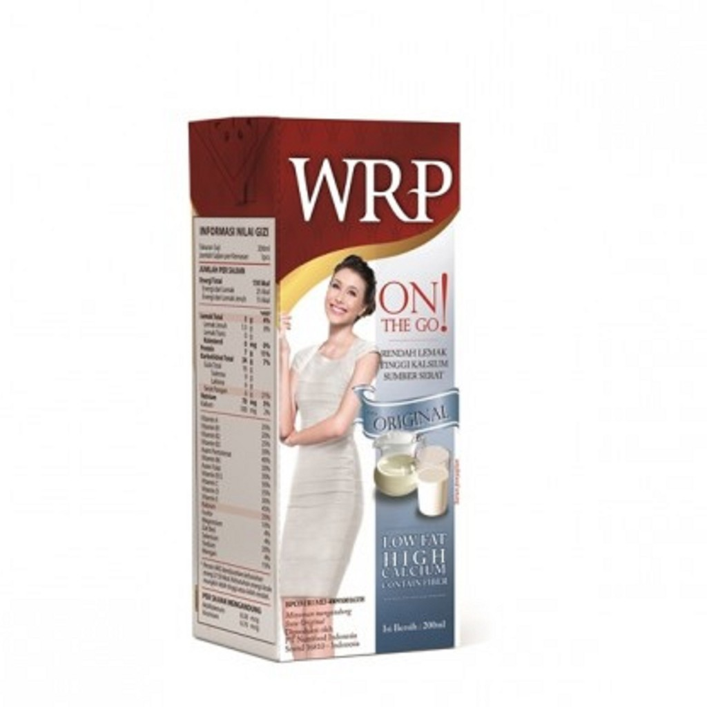 Wrp On The Go Original 200ml Bundle 4 Shopee Indonesia Low Fat Milk Chocolate Vanilla 2pcsx60g