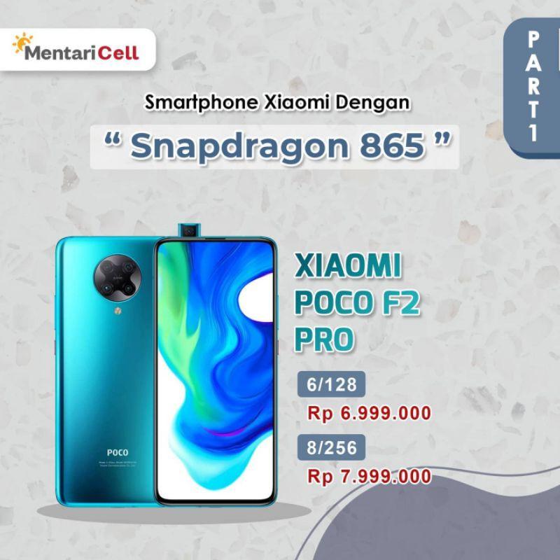 XIAOMI POCO F2 PRO - SNAPDRAGON 865
