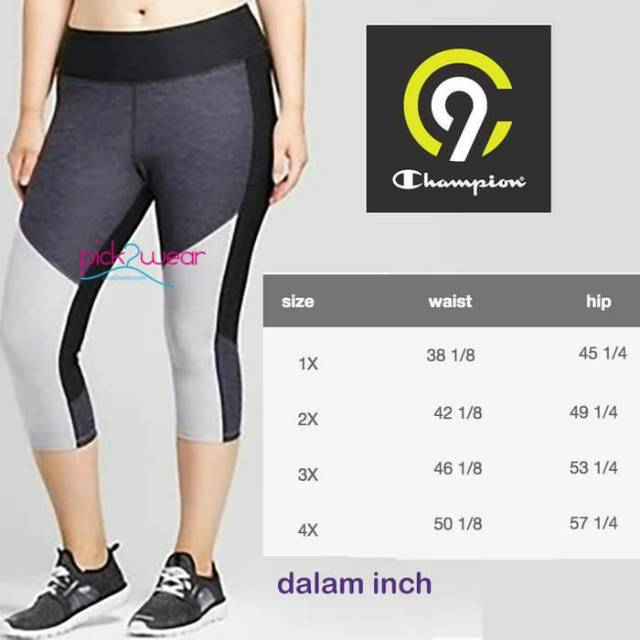 C9 capri sport pants yoga zumba colorblocked grey