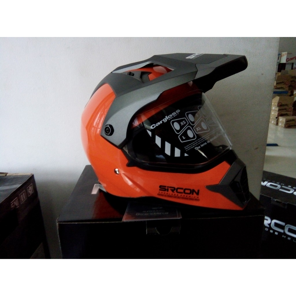 Cargloss Mxc Motosport Helm Motocross Orange Deep Black Size Xl Diskon Cross Supercross Fz Yellow Full Face Shopee Indonesia