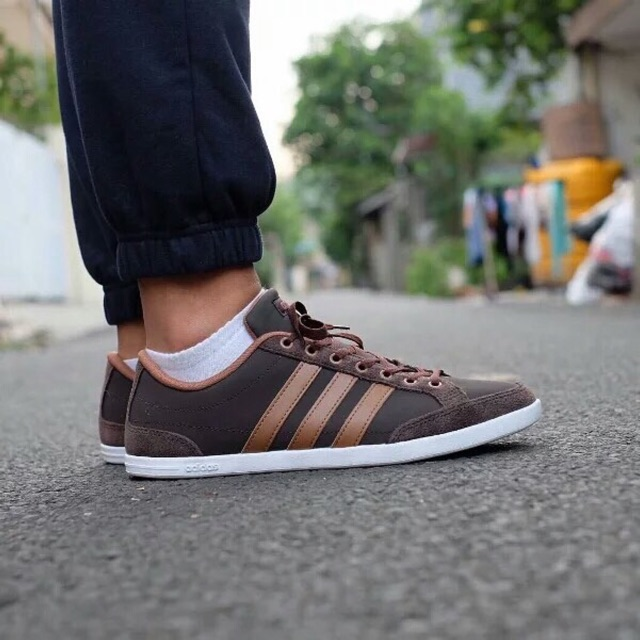 adidas neo caflaire brown cheap online