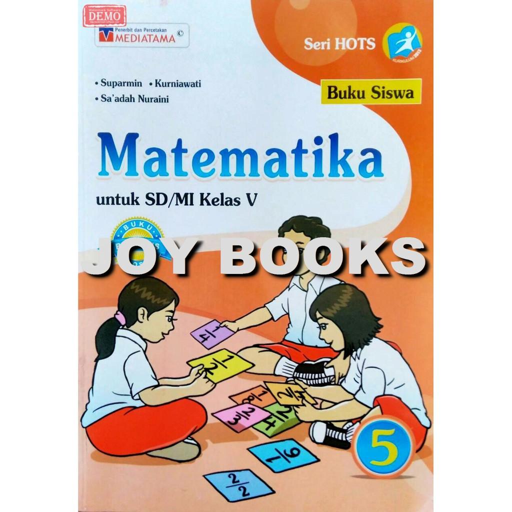 Buku Matematika Mediatama Sd Mi Kelas 5 Kurikulum 2013 Shopee Indonesia